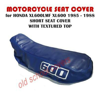 MOTORCYCLE SEAT COVER Will Fit  XL600LMF XL600 LMF 1985 -88 SHORT SEAT 600 • 38.99£