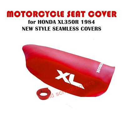 MOTORCYCLE SEAT COVER Fits XL350R XL 350 R 1984 MODEL RED • 38.99£
