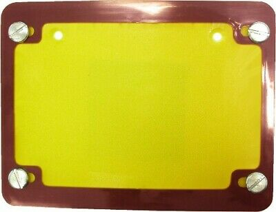Number Plate Surround 6 Digit Red • 7£