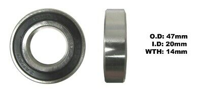 Bearing Koyo 6005DDUID 25mm X OD 47mm X W 12mm 08143-60057 • 6.50£