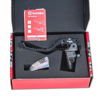 BREMBO 17RCS Radial Clutch Master Cylinder, Folding Lever, 17mm 16 & 18 Ratio • 270£