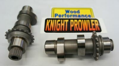 Wood Performance Knight Prowler TW-222 Cams Harley Twin Cam 06-17 FLH/FLT FXD ST • 292.58£
