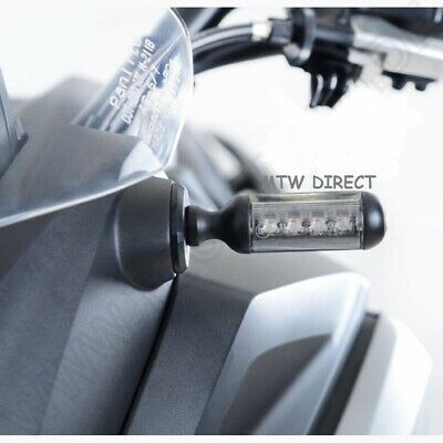 R&G Motorbike LED Indicators -Clear Lenses- One Pair • 57.97£