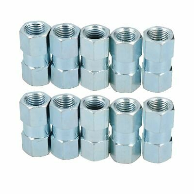 "M10 X 1mm Inline Female Brake Pipe Joiner Connector Fitting For 3/16"" Pipe 10pc • 7.70£"