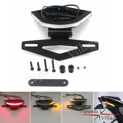 LED Rear Brake Turn Signal Tail Tidy Fender Eliminator Kit For BMW S1000RR 2020 • 102.12£