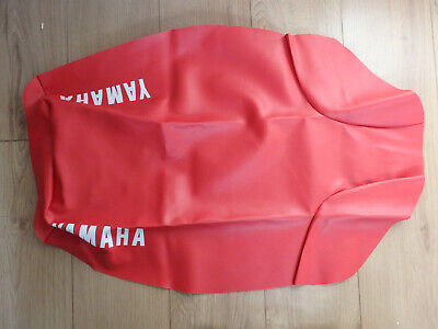 RED SEAT COVER Fits XT600 Z TENERE 2KF Yamaha 1987-89 • 28£