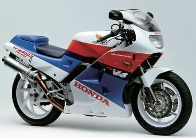 Honda VFR400 NC21 Front Top Fairing In Red And White  • 70£