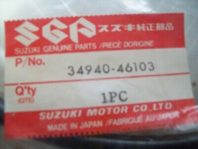SUZUKI GT50 / ZR50 TACHOMETER CABLE - Ref No 34940-46103 - Free Uk Post • 17£