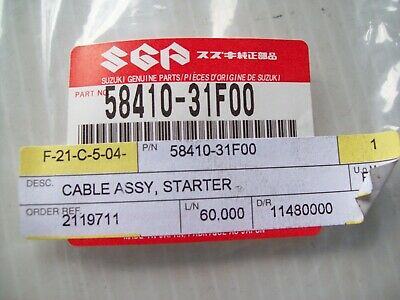 Suzuki GSF600 GSF600S Bandit 00-03 Choke Cable - 58410-31F00 - Uk Free Post • 17£