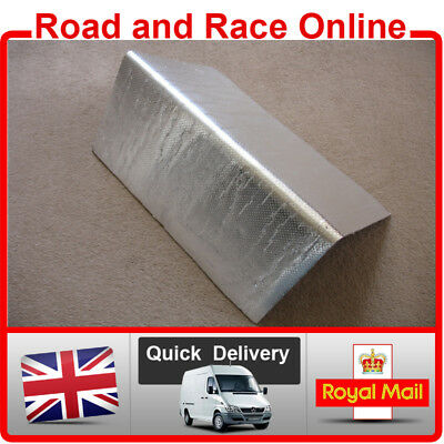 Fairing Panel Engine Exhaust HEAT SHIELD Race/Road/Track Day Bike Large Sheet • 23.99£