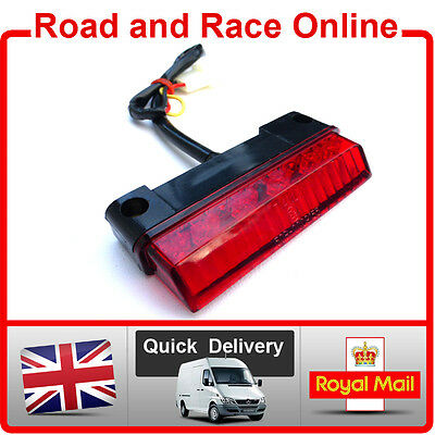 12 Volt LED Rear Light Stop And Tail Light Universal Fitting All Motorcycles • 11.99£