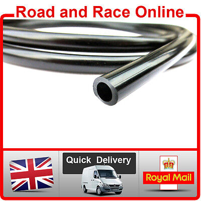 Motorcycle Carb Breather / Overflow /Petrol Pipe 5mm I/D X 8mm O/D 1m Long Black • 3.99£