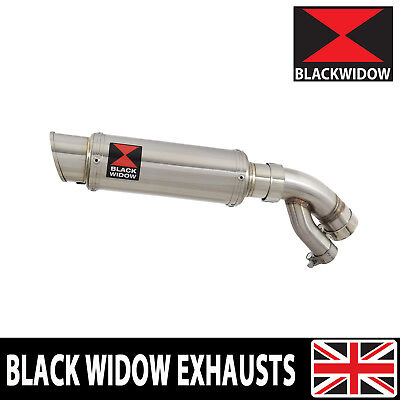 BMW S1000XR 2015-2019 Exhaust Silencer 230mm GP Style Round Stainless 230SR • 159.99£
