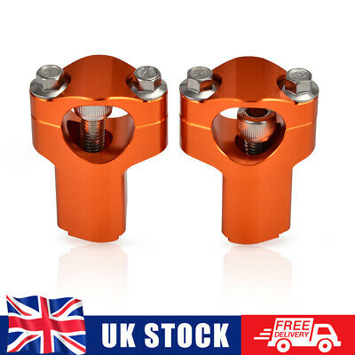 Handlebar Risers 52mm Height For KTM 350 450 500 EXC-F 200 250 300 450 500 EXC • 21.99£