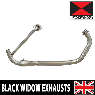 Honda Xl125 Varadero 01-06 Exhaust Downpipe Stainless Steel Oem Compatible • 164.99£