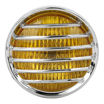 Motorcycle Grill Headlight Halogen Head High Brightness Electroplate Shell • 16.75£