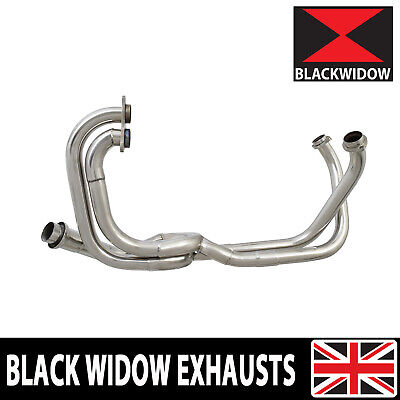 Vfr750 Vfr 750 Low Level Exhaust Down Pipes Collector Manifold Fr-fv 94-97 • 264.99£