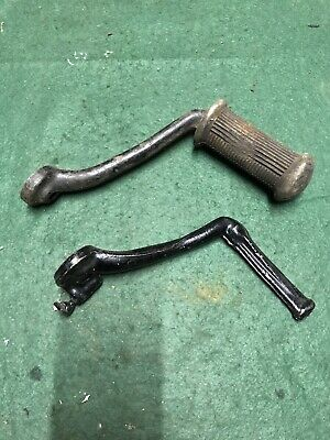 Triumph 650 Foot Rests 1964-70 Used • 50£