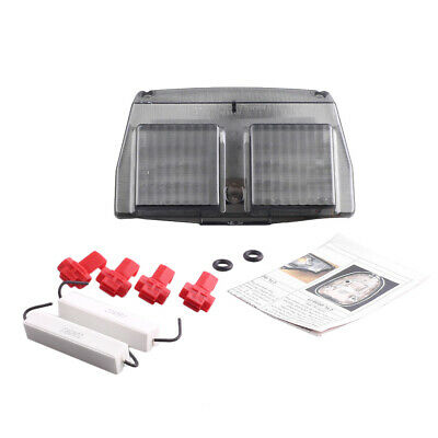 Smoke Integrated LED TailLight Turn Signals Fits DUCATI 748/916/996/998  ABS • 24.75£