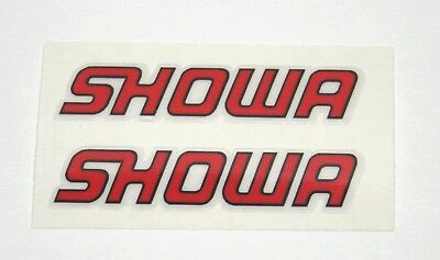 SHOWA DECALS STICKERS For SHOCK FORKS DUCATI 748 916 996 998 • 4.48£
