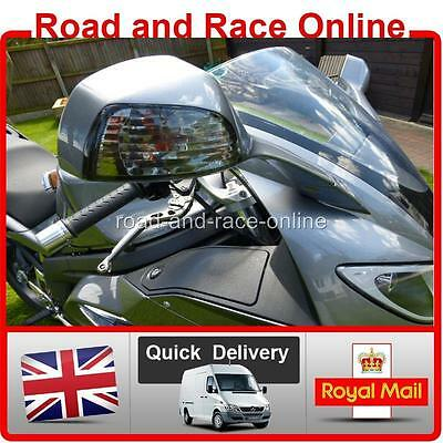 Pair Of Smoke Indicator Lens For Triumph SPRINT ST 1050 Plus Amber Bulbs 2005 On • 39.99£