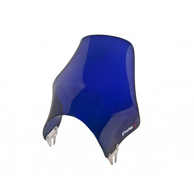 Motorbike Motorcycle Fly Screen Puig Naked Windscreen Blue • 32.95£