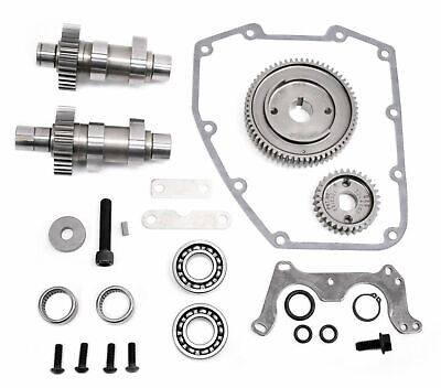 S&S 475G .475 Lift Gear Drive Cams + Install Kit Camshafts Harley 88 Twin Cam 95 • 490.06£
