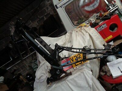 Honda Ntv 650 Deauville, Frame With V5 And Plate • 75£