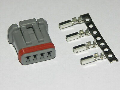 Harley Davidson 69201179 OEM JAE Grey 4 Wire Male Connector For Lighting Wiring  • 8.50£
