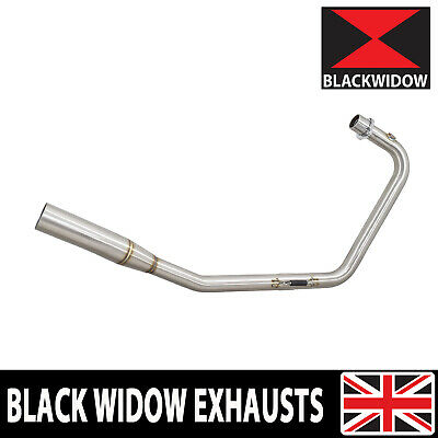 Stainless Exhaust System Downpipes Headers Fits Lexmoto Venom 125 / Viper 125  • 89.99£