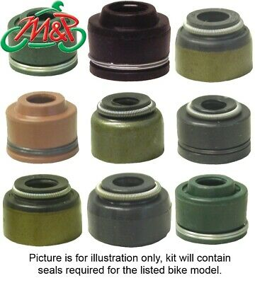 RF 600 RS (GN76A) 1995 Exhaust Valve Stem Oil Seal Kit • 12£