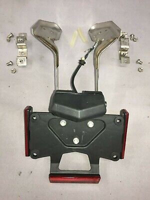 Ducati 749 999 Rear Plate Holder Assembly Complete With All Hardware OEM • 65.76£