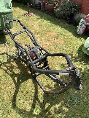XJ600 Frame With Swing Arm And Shock Absorber • 80£