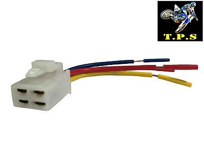Electric Starter Relay Solenoid Connector Plug: Ktm Rc8 Rc8r 1190   2008 - 2015 • 7.99£