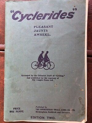BSA Cyclerides Guide 1911 • 5£