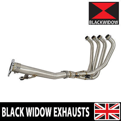 Gsf 1200 Gsf1200s Bandit Exhaust Race Header Pipes + 3 Bolt Link Pipe 1996-2006 • 259.99£