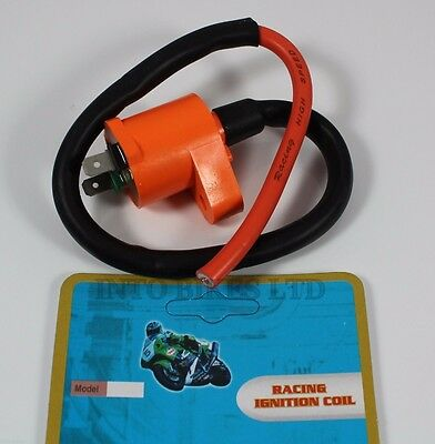 Racing Performance Ignition Coil Peugeot Elystar 125 Ie ABS 2005 • 11.95£