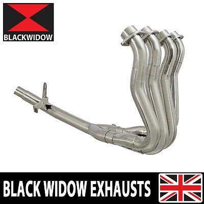 Gsx-s 1000 F Exhaust Headers Collector Down Front Pipes Race De-cat Full Power • 299.99£