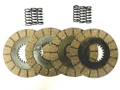 Bsa Bantam D14 & B175 Friction Clutch Plates + Heavy Duty Springs - A904 & C904 • 52.50£