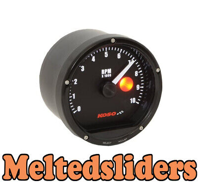 Koso TNT Race Track Bike Car Tacho Rev Counter Shift Light GSXR R1 CBR Fireblade • 129.95£