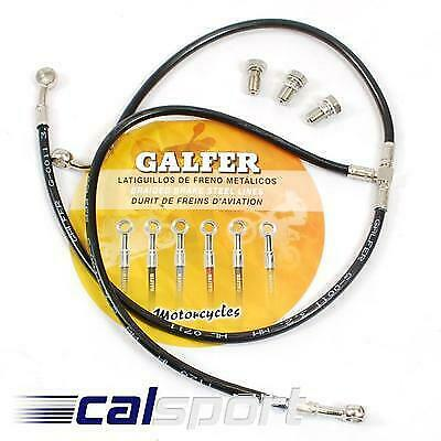 Galfer Black Braided Front Brake Lines Hoses Honda CRF1000L Africa Twin 2016> • 30.90£