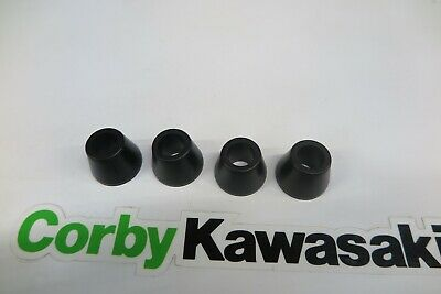 Kawasaki Kx500 96-04 Genuine Handle Bar Rubbers 92161-0113 • 14.51£