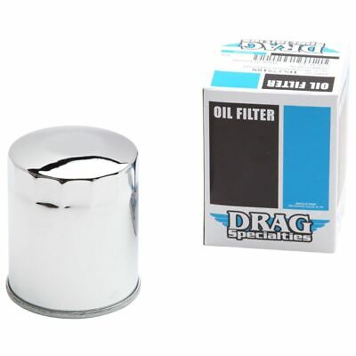 DRAG CHROME MAGNETIC RING OIL FILTER - Twin Cam • 10.20£