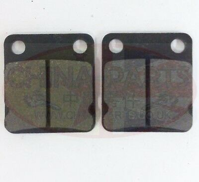 Rear Brake Pads To Fit Pulse Adrenaline 125 - Pioneer XF125 GY-2B  • 5.99£