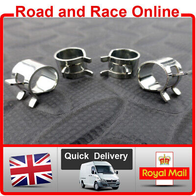 8mm I/D Fuel Line Petrol Pipe Clips Spring Loaded Type Pack Of 4 Suit Suzuki  • 2.95£