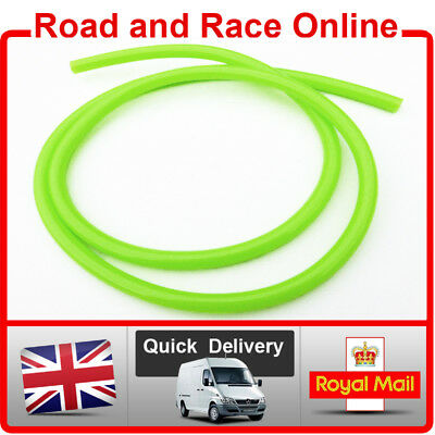 Motorcycle Fuel Line Petrol Pipe 5mm I/D X 8mm O/D 1m Length Green Fuel Hose • 3.99£