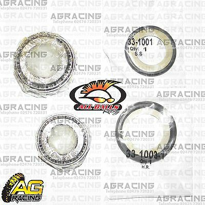 All Balls Steering Headstock Stem Bearing Kit For Kawasaki KX 500 1990 Motocross • 24.95£