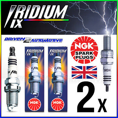 2 X NGK IRIDIUM IX CR9EIX SPARK PLUG UPGRADE FROM CR9EK,CR9,CR9E,CR9EB,CR9EVX • 19.64£