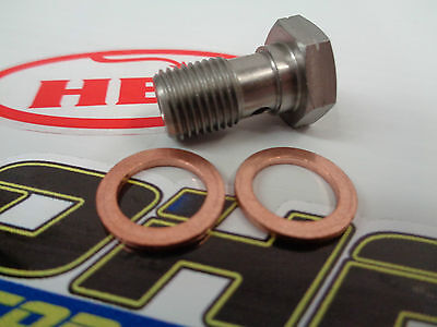 HEL Performance Stainless Steel Single Banjo Bolt Motorcycle Car 3/8x24 UNF NEW • 2.99£