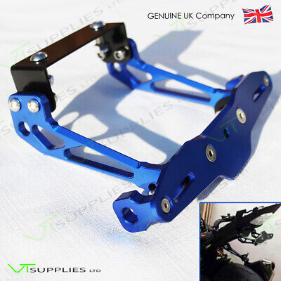 Universal Blue Tail Tidy For Motorbike / Motorcycle / License Plate Bracket  • 19.99£